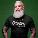 'Promoted to grandpa' adult shirt