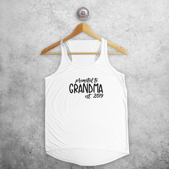 'Promoted to grandma' tank top