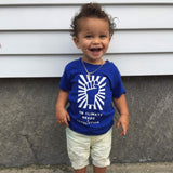 'Our climate needs a revolution' baby shortsleeve shirt