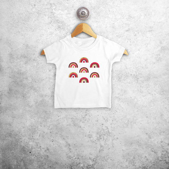 Rainbows baby shortsleeve shirt