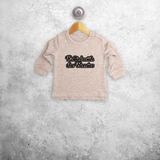 'Rollin' with the homies' baby sweater