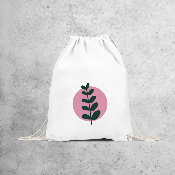 Plant and circle backpack