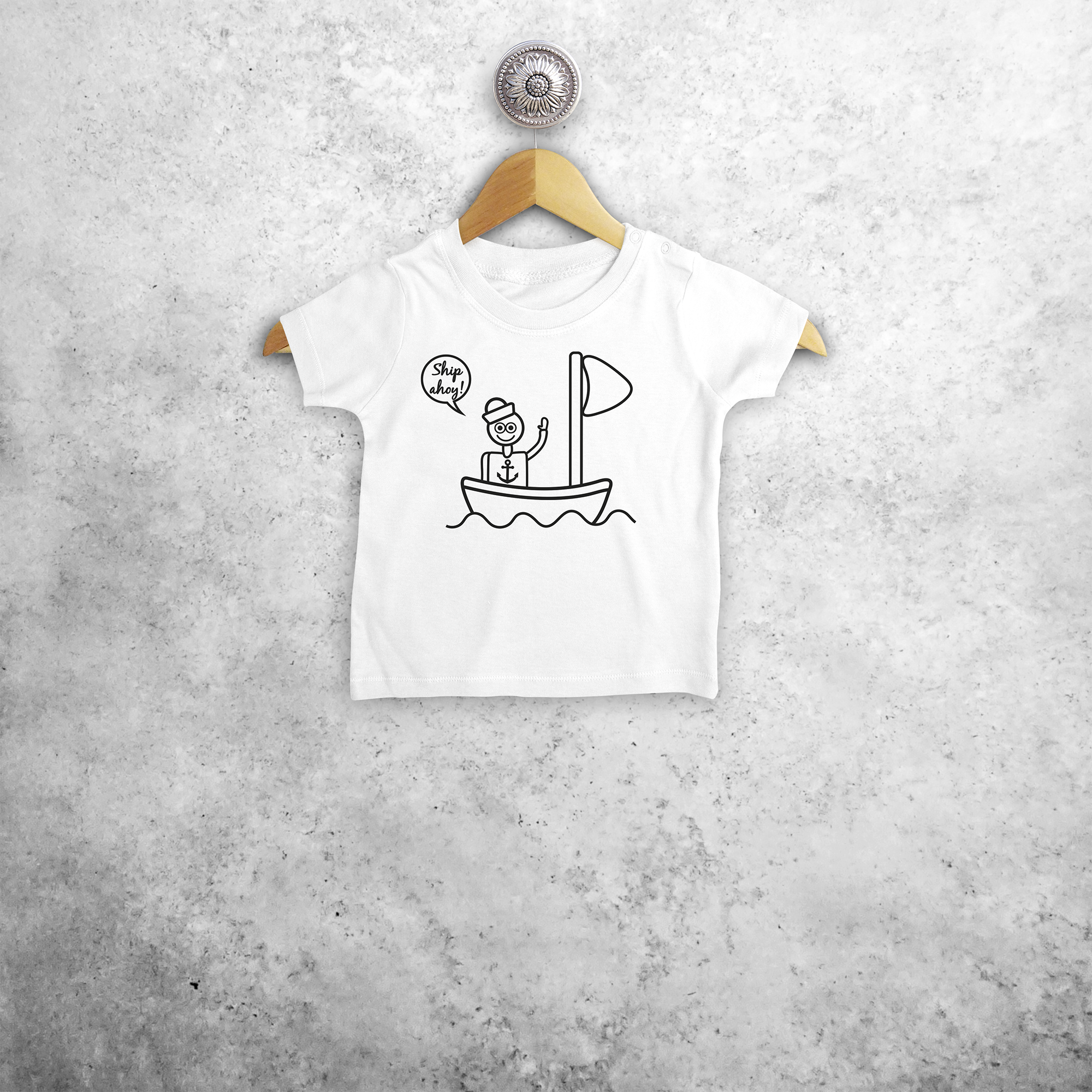Sailor baby shortsleeve shirt