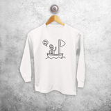 Sailor kids longsleeve shirt