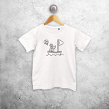 Sailor kids shortsleeve shirt