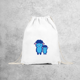 Blue sheep backpack