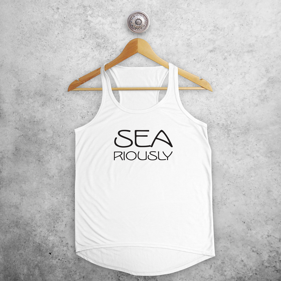 'Sea-riously' tank top