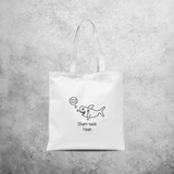 'Sharktastic' tote bag