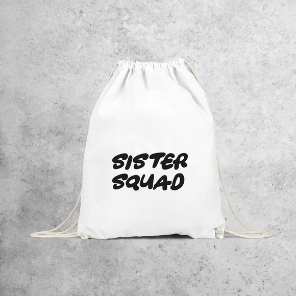 'Sister squad' backpack