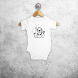Sloth baby shortsleeve bodysuit