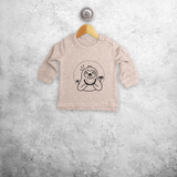 Sloth baby sweater