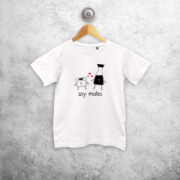 'Soy mates' kids shortsleeve shirt