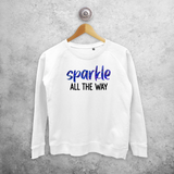 'Sparkle all the way' sweater