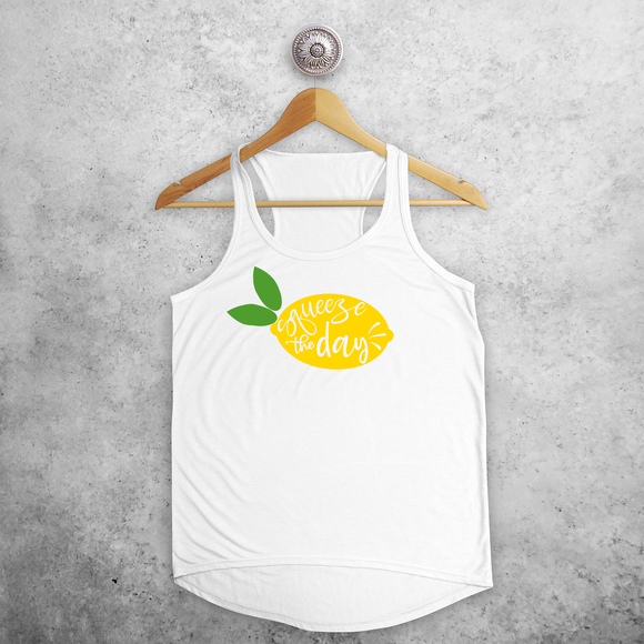 'Squeeze the day' tank top