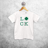 Luck kids shortsleeve shirt
