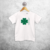 'Lucky' kids shortsleeve shirt