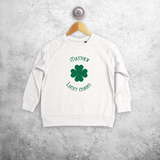 'Lucky charm' kids sweater