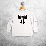 Bow kids sweater