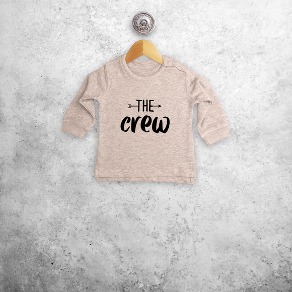 'The crew' baby sweater