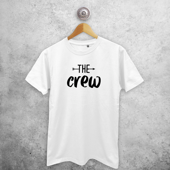 'The crew' adult shirt