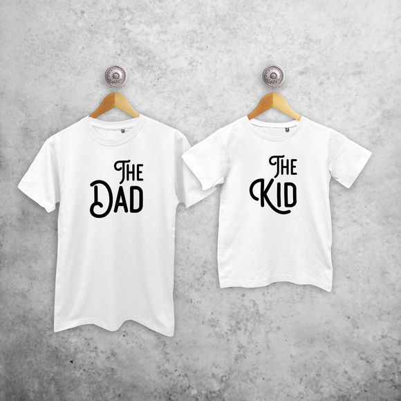 'The Dad' & 'The Kid' matching shirts