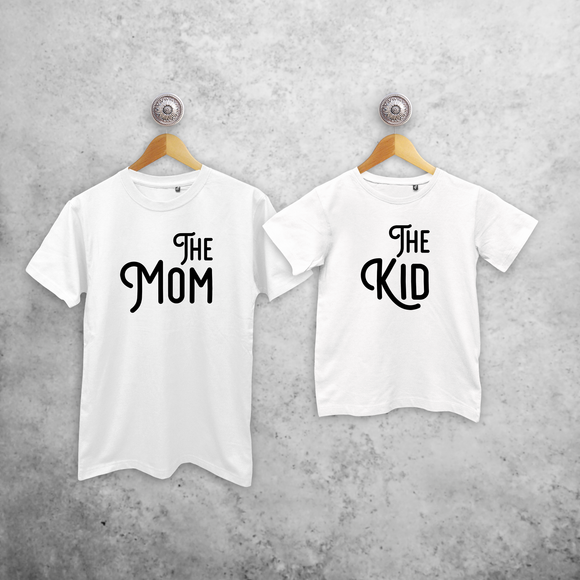 'The Mom' & 'The Kid' matching shirts