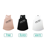 Colour options for adult tank tops by KMLeon.