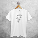 'True love' pizza shirt