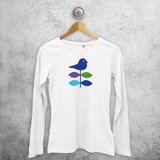 Bird adult longsleeve shirt