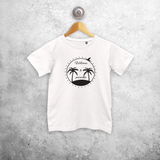 'Welcome to paradise' kids shortsleeve shirt
