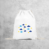 Clouds and stars backpack