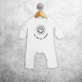 'You are my sunshine' baby romper