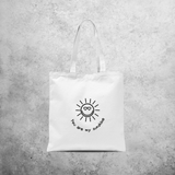 'You are my sunshine' tote bag