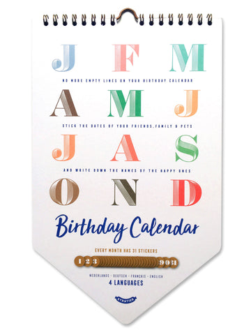 Happy Birthday Calendar