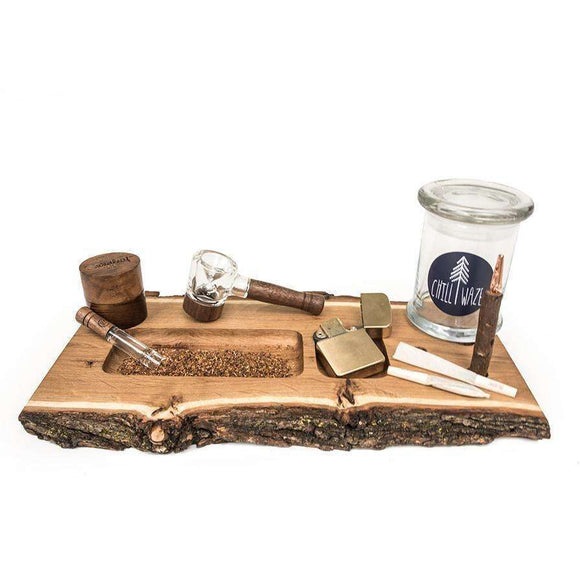 Exposed Bark Rolling Tray
