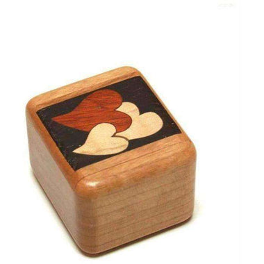 Heart Marquetry Stash Box