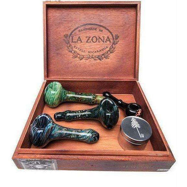 La Zona Wood Stash Box