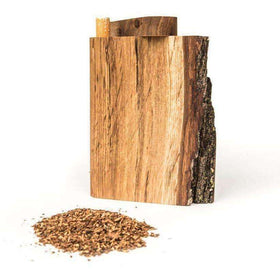 Natural Exposed Bark Dugout