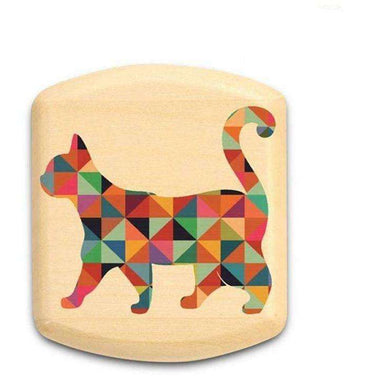 Patterned Cat Color Art Stash Box