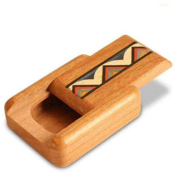 Rainbow Zig Zag Stash Box