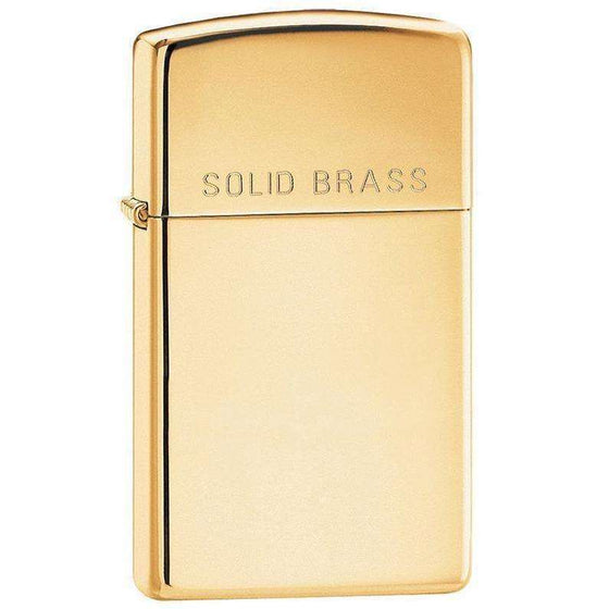 Slim Solid Brass (Engraved)