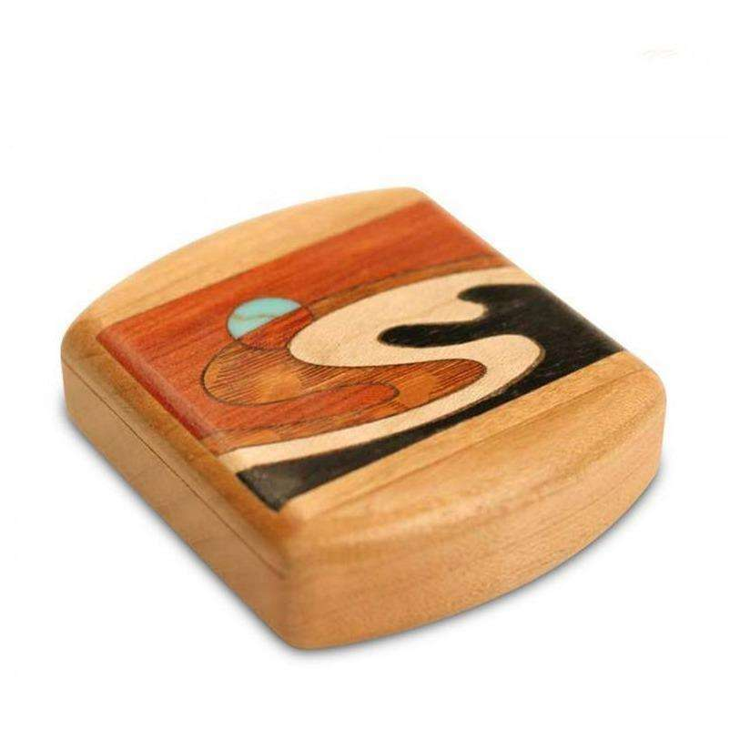 Wave Marquetry Stash Box