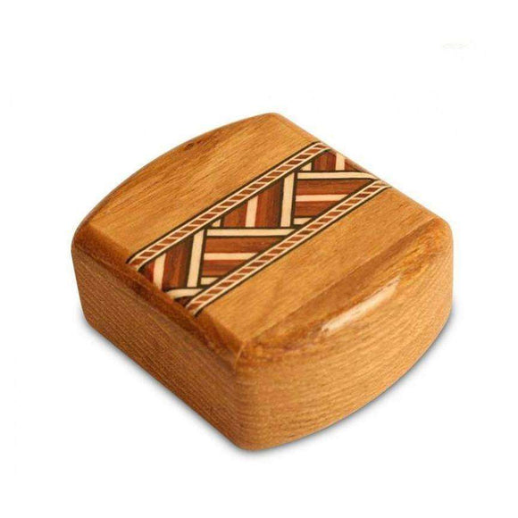 Zig Zag Inlay Stash Box