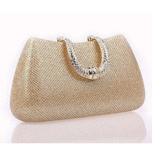 U SHAPE HAND BAG
