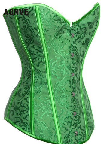 Sexy Green Corset Sexy Lingerie for Wedding