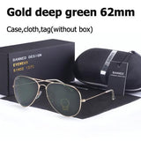 glass lens classic sunglasses men and women vintage with original box