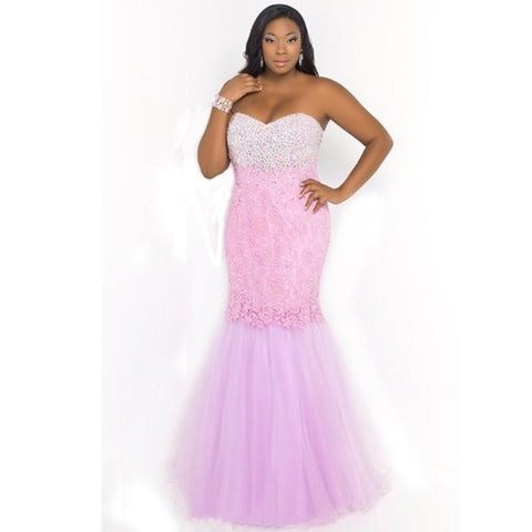 2018 Hot Sale New Arrival Pink Sweetheart The Dress Floor Length Lace (rental 280)