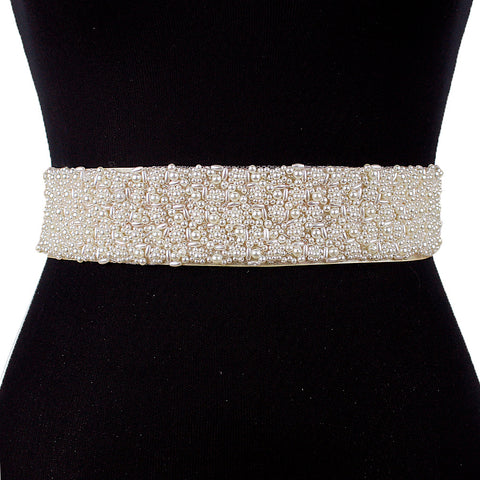 Beading Pearls Bridesmaid Waistband