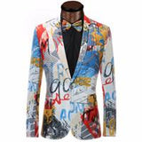 2018 New Brand Men Blazers Single Breasted Wedding Costume Shiny Party Casual Tuxedo Suits