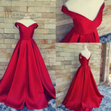 Vintage Red Prom Dresses Cheap Plus Size Fast Shipping Formal Evening Gowns 2018